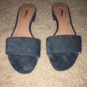 Madewell suede sandals